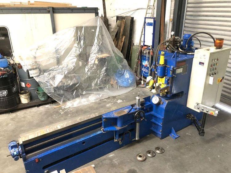 Lucas 6/3500 shear & beading machine