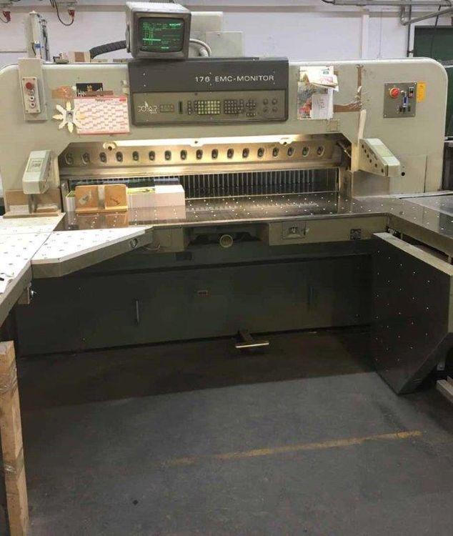 Polar Mohr, 176 EMC, Semi Automatic Cutting Line
