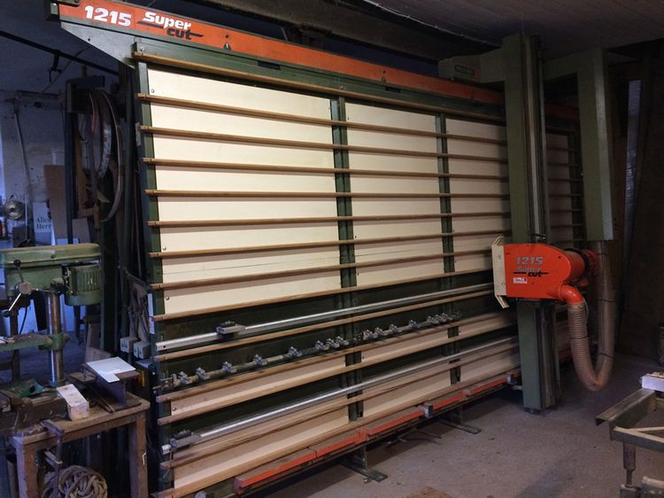 Holzher 1215, Panel saw standing