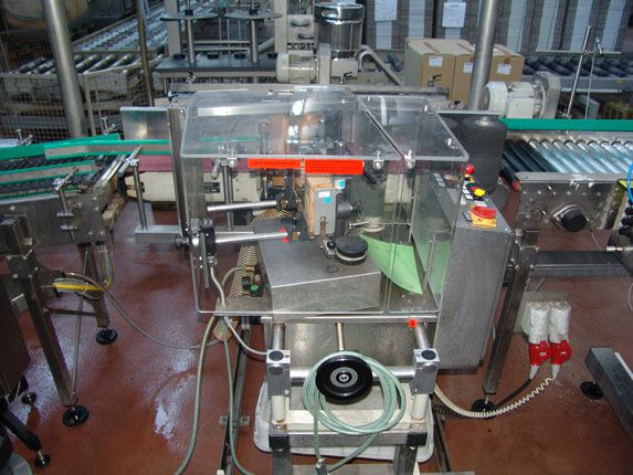 Krones Cartina Carton Labelling Machine