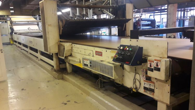 Marquip, Peters Complete LHDPG  double Wall corrugator B, E, C, 300 m/mn, avail. end of 2019! 2500 mm