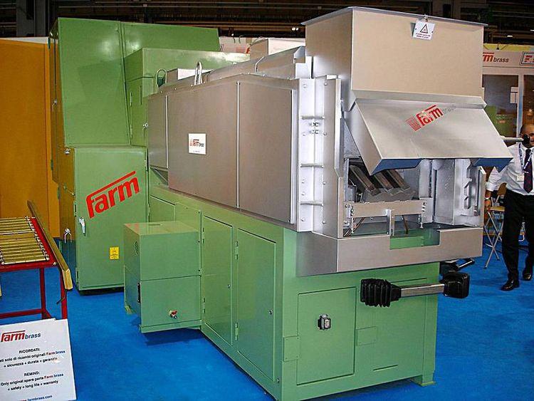 FARM BRASS Gas billet-slug heating furnace for forging
