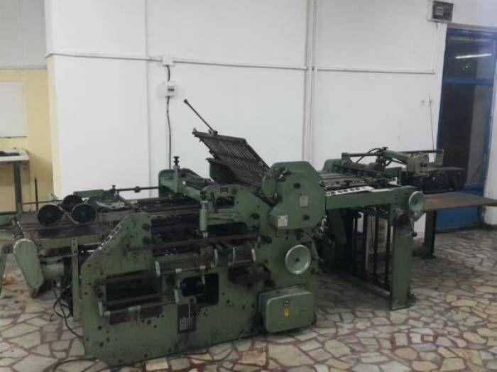 Stahl K 72/4 KLL, Folding machine