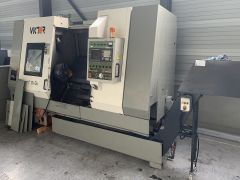 Victor Fanuc 0-T 2500 RPM V-Turn 36/125 2 Axis