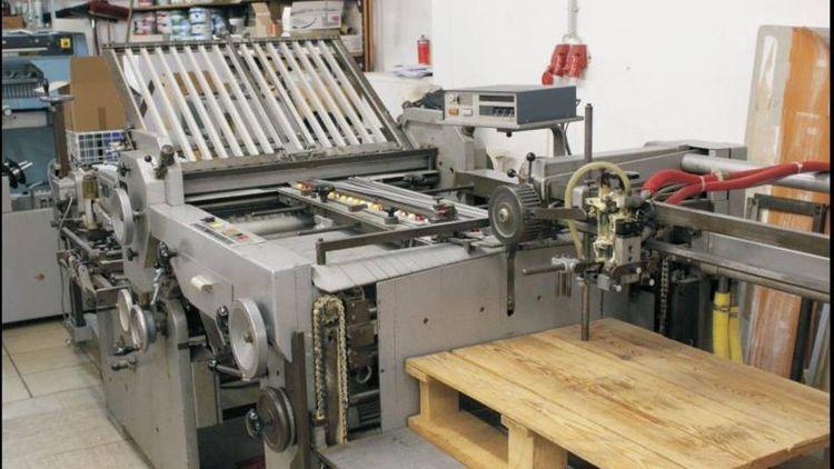 MBO K76-4KL, Folding machine
