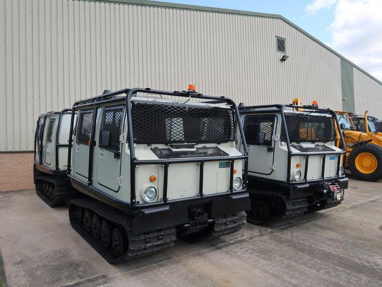 10 Hagglunds BV 206 Hard Top Personnel Carriers