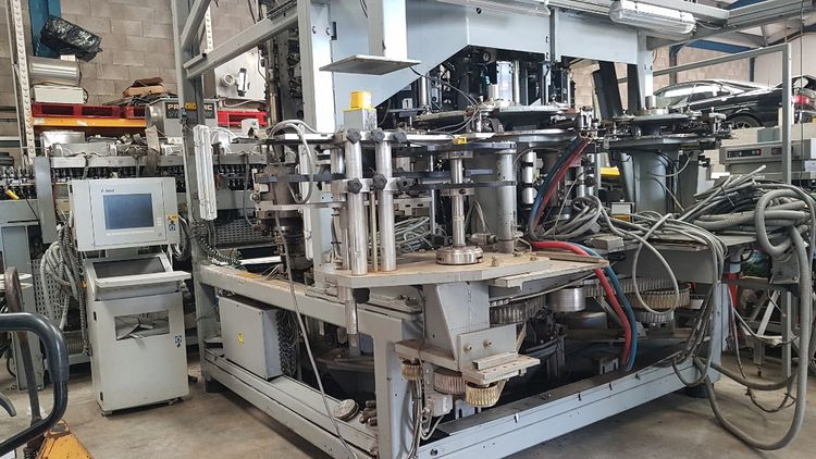 Sidel SBO 12 SERIES 2 PET STRETCH BLOW MOULDING MACHINE