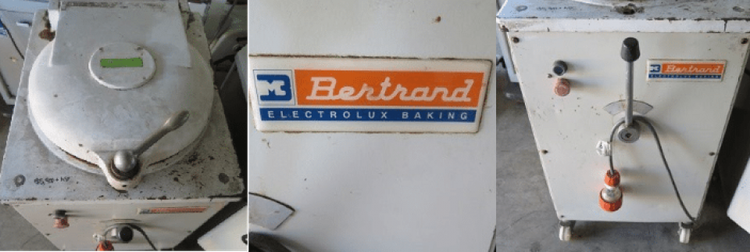 Bertrand D20, Dough Divider