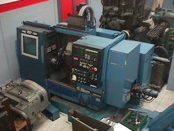 Graziano GENERAL ELECTRIC MARK CENTURY 2000 Variable Sag 202 Cnc slant bed lathe 2 Axis