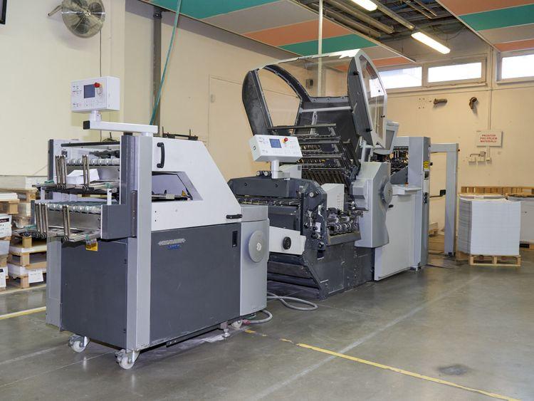 Stahl KH 66, Full automatic folding machine