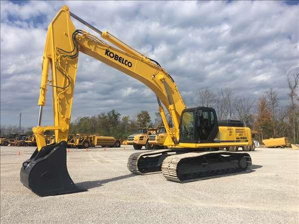 Kobelco SK485-8 Excavator