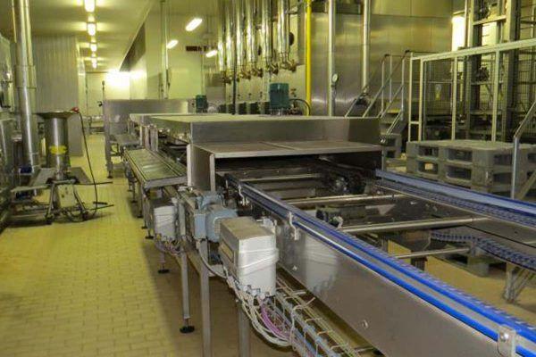 Mecatherm Frozen Baguette Line