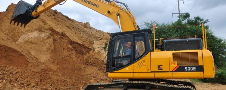 LiuGong 930E Stage IV Large Excavators