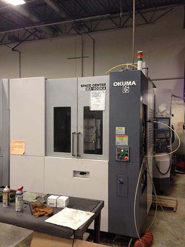 Okuma MA400HA 4 Axis