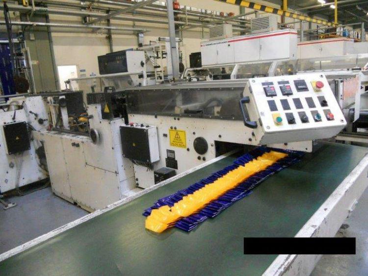 Waterline Polyrex Loophandle bagmaking machine
