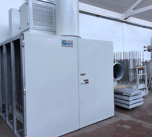 Galvanin ERSPC  Packages dryer