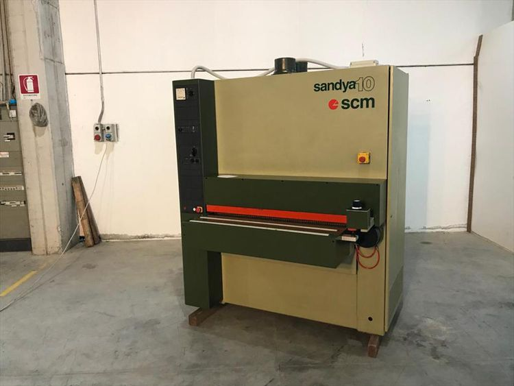 SCM Sandya 10, Calibrating machine