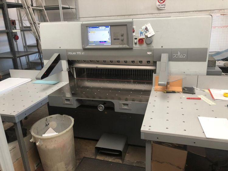 Polar 115 XT, Professional paper guillotine