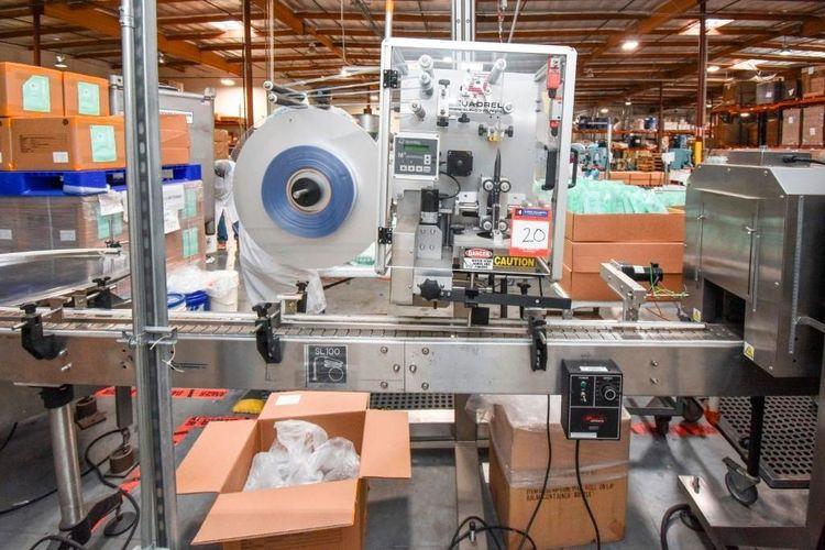 Quadrel SL100  Shrink Sleeve Labeling Machine