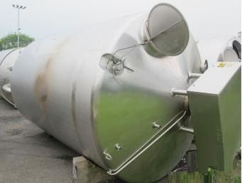 APV 15,000 Litre Stainless Steel Mixing Vessel
