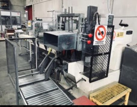 Cassoli, OMET type FN 450 complete line for Handkerchieves ( 120 packages x 10/ mn )   fully overhauled 2016