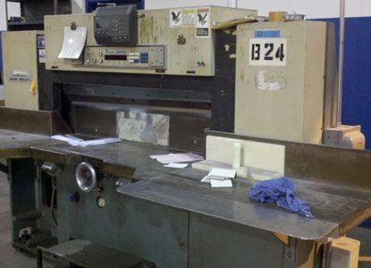 Baum, Lawson BaumCut. Cutter machine