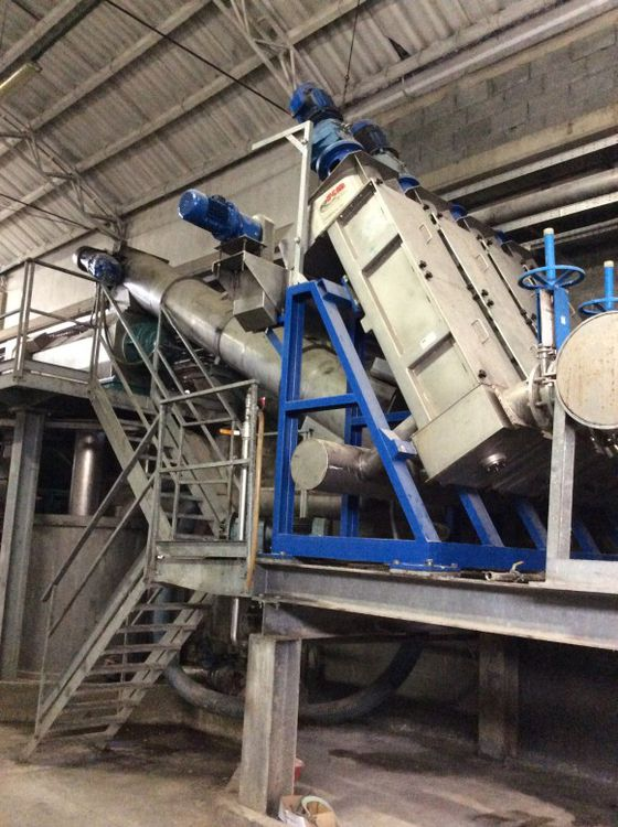 Complete Hot Dispersion Plant of 2001 150 Tpd