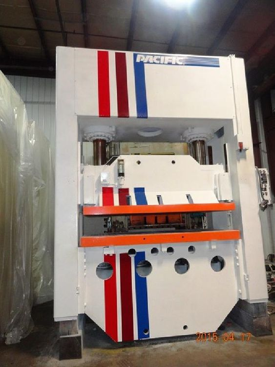 Pacific STRAIGHT SIDE HYDRAULIC PRESS 400 Ton
