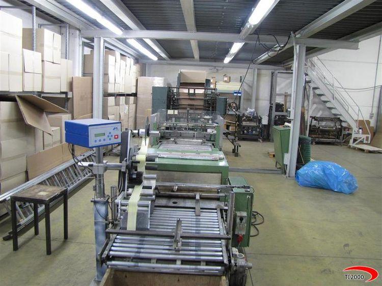 Elsner, MAF 1900 mm rewinder Consumer rolls