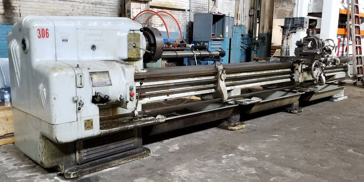 American Engine Lathe 1200 rpm 20X192 HD PACEMAKER