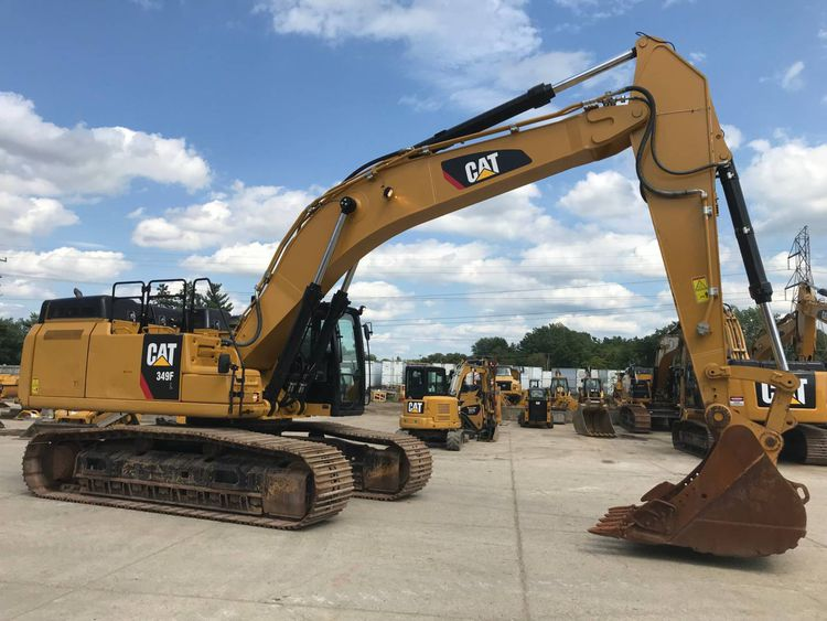 Caterpillar 349FL Large Excavators