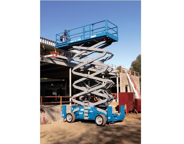 Genie GS5390RT AERIAL WORK PLATFORM Lift Capacity 1,500 lbs (680 kg)