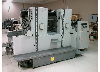 """Sakurai 272, 2 Colors Offset Machine Max. 20 x 28"""""""