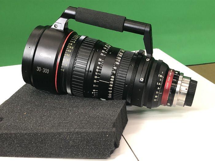 Canon CN-E 30-300mm 2.95-3.7 L S PL Mount Cinema Zoom Lens