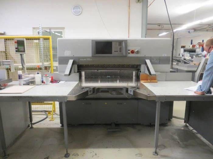 Polar 115X, Paper guillotine machine