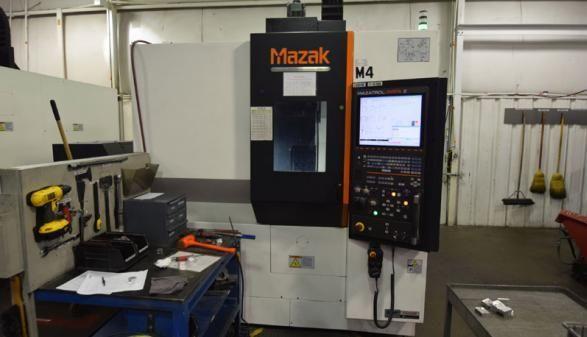 Mazak VCU-400A-5X (2013) 3 Axis