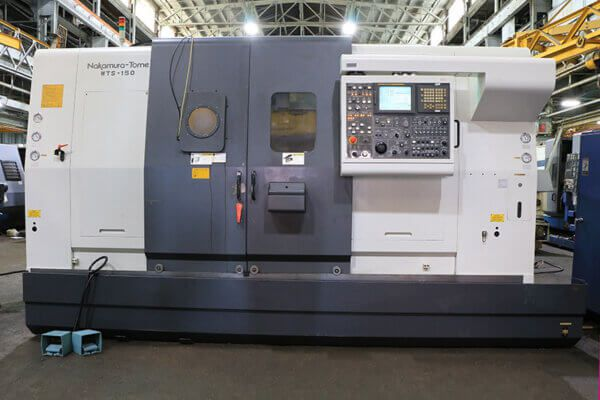 Nakamura Tome FANUC 16iTB CNC CONTROL 8000 rpm WTS150 11 Axis