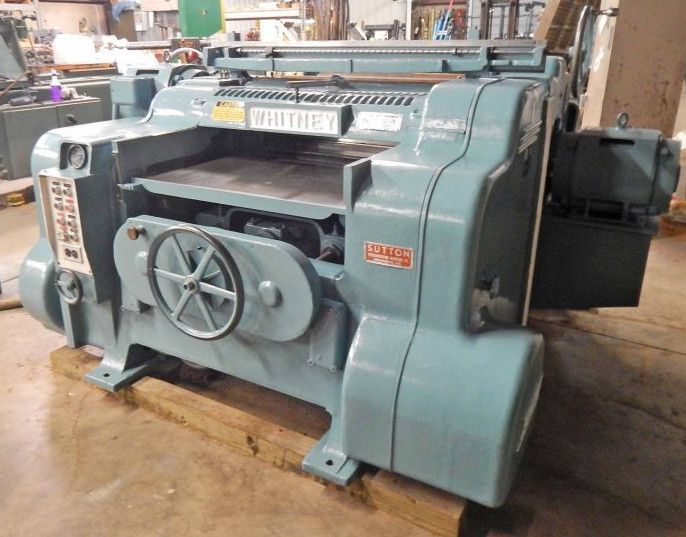 Whitney S-970, DOUBLE SURFACE PLANER