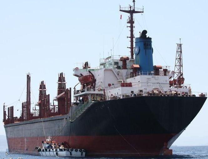 Imabari Geared Bulk And Lumber Carrier 25417 DWT ON 10.23M DRAFT