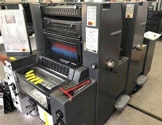 Heidelberg Printmaster 52-2+ 2 370x520 mm