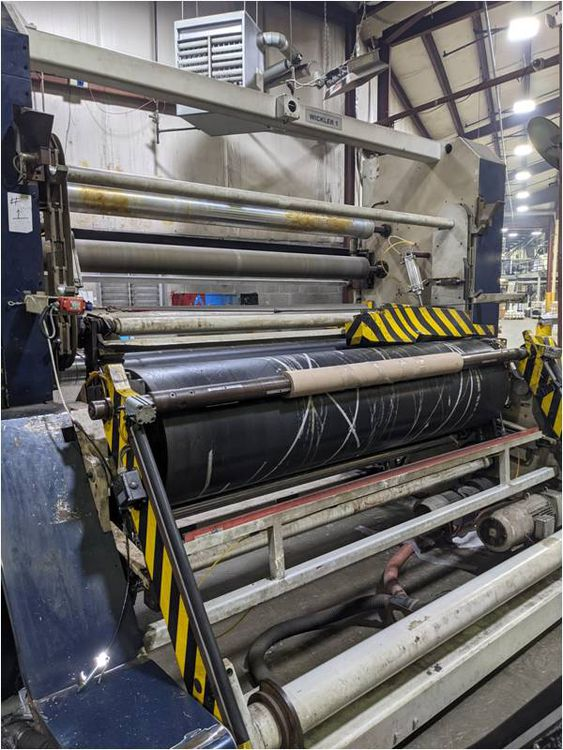 Kiefel f/f surface winders, with laydown arms