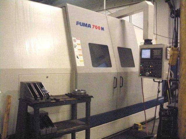 Doosan FANUC 21ITB CNC CONTROL Max. 1500 rpm PUMA 700M 3 Axis