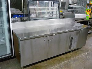 Others Refrigerated Work Table With Storage