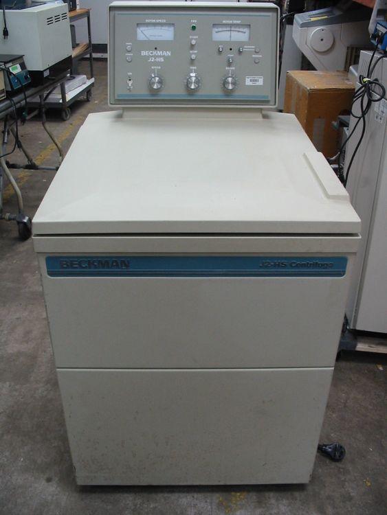 Beckman J2-HS high speed refrigerated floor Centrifuge