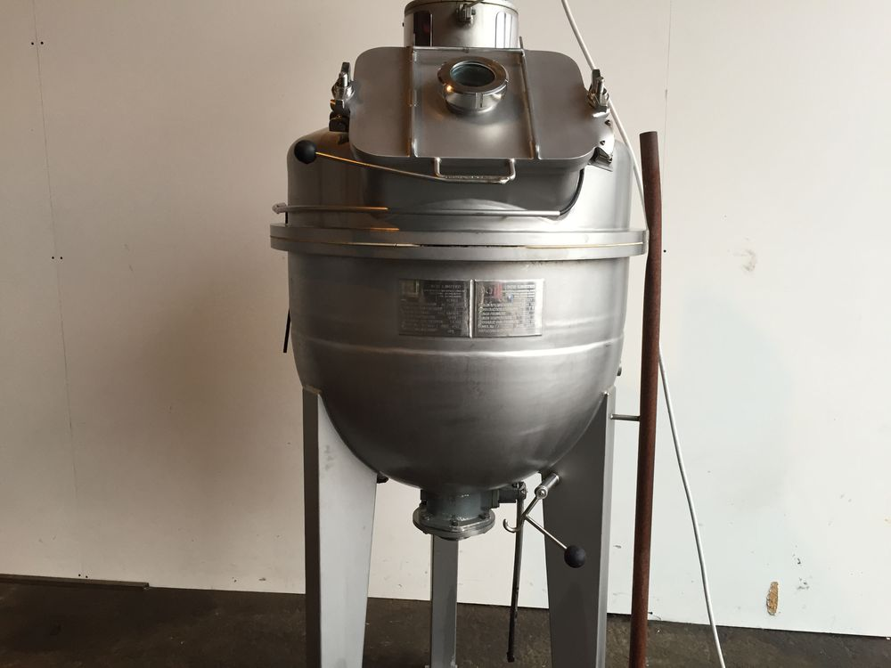 BCH cooking mixing vessel steam jacketed pressure mixing vessel