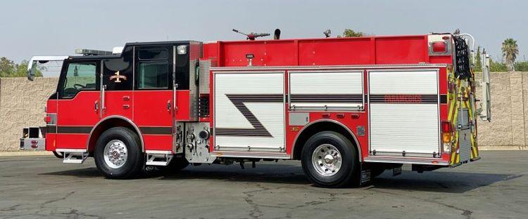 Pierce Velocity rescue/pumper