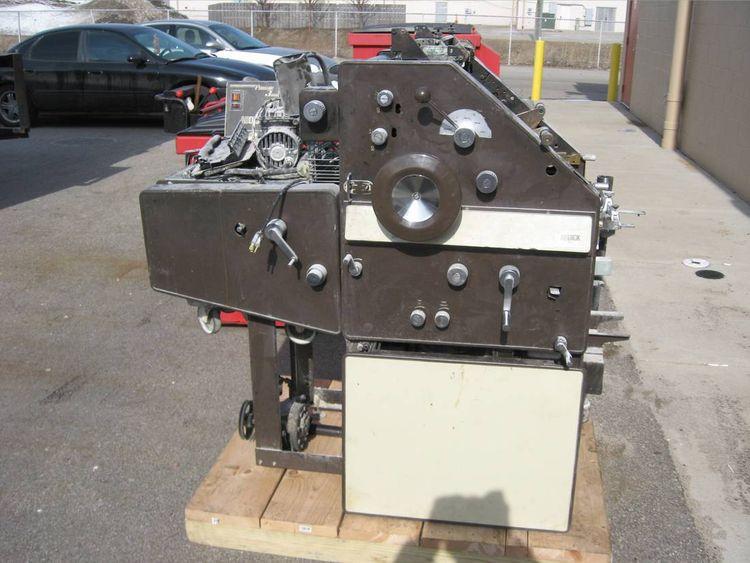 AB Dick 9810, 2 colors Offset machine