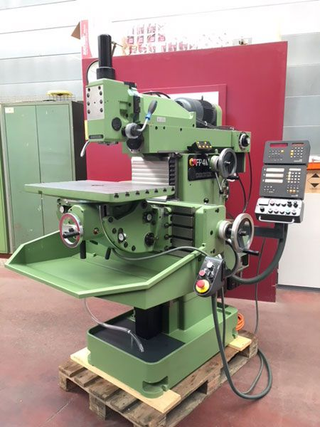 Deckel FP4MK Universal tool milling machine Max. 2500 rpm