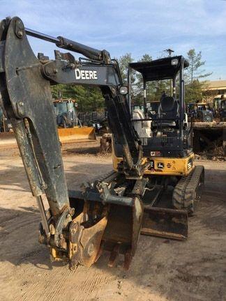 John Deere 35G Compact Excavators