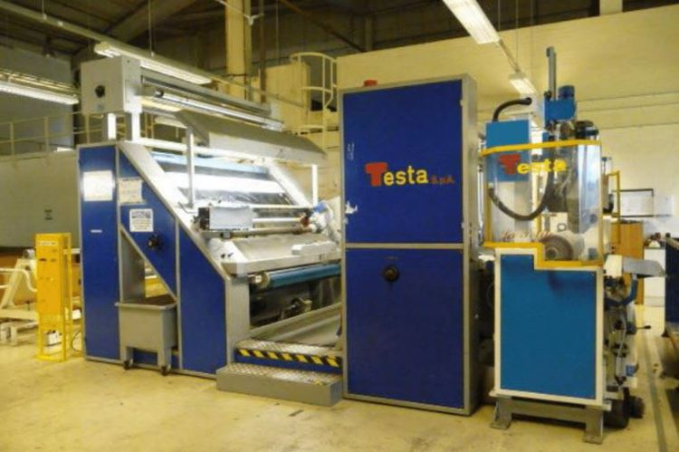 Testa Inspection, Slitting, Rolling, Labelling and Wrapping